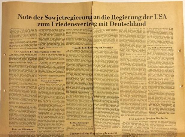 Friedensvertrag Deutschland Usa